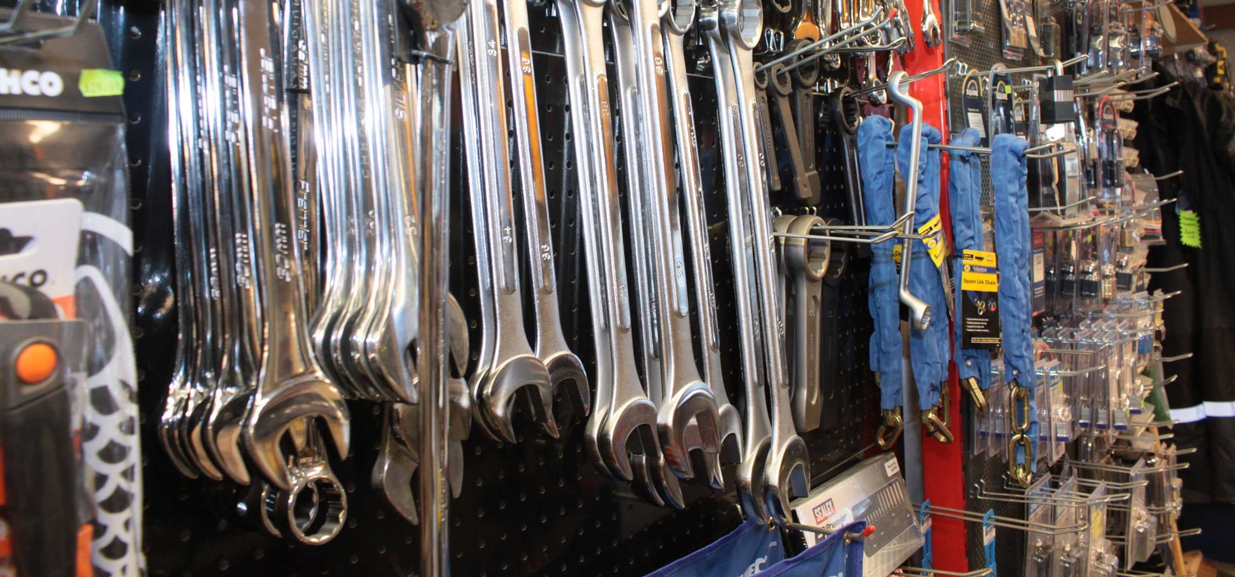 We pride ourselves on stocking an extensive range of tools.